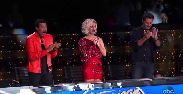 Watch this advert GIF by American Idol (@americanidol) on Gfycat. Discover more american idol, american idol season 17, americanidol, applause, clap, clapping, jeremiah lloyd harmon, judges, katy perry, lionel richie, luke bryan, ryan seacrest, season 17 GIFs on Gfycat