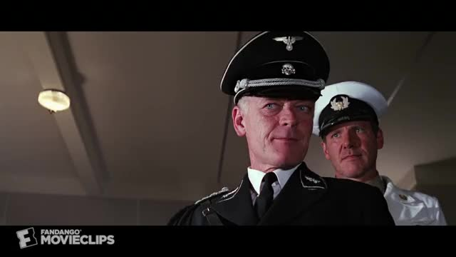 Watch Indiana Jones and the Last Crusade (6/10) Movie CLIP - No Ticket (1989) HD GIF on Gfycat. Discover more action adventure, adventures, authority videos, celebs, consequences videos, general vogel, george lucas, harrison ford, indiana jones, professor henry jones, robert watts, sean connery GIFs on Gfycat