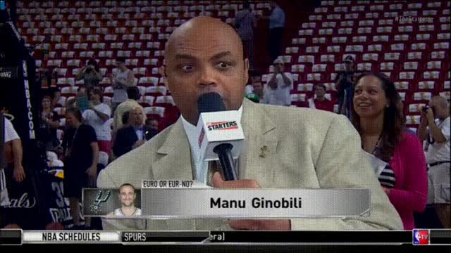 Watch Shaq licking a reporter's head like ice cream GIF on Gfycat. Discover more celebs, charles barkley GIFs on Gfycat