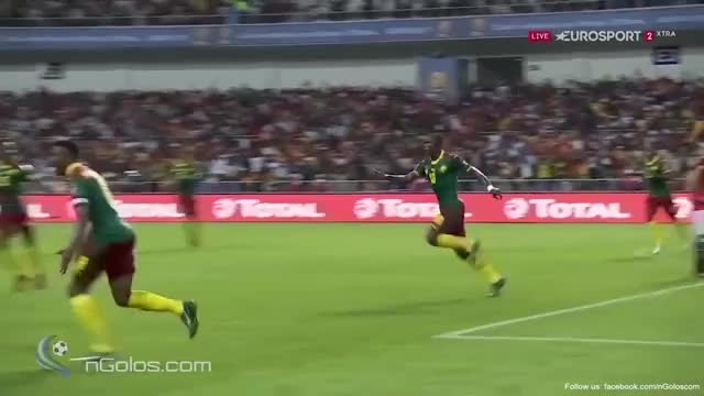 Watch Egypt 1-2 Cameroon GIF on Gfycat. Discover more rugbyunion GIFs on Gfycat