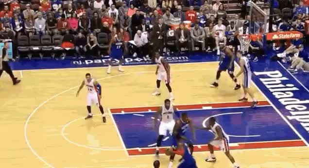 Watch Tony Wroten threads needle to Casper Ware, then fist pumps. Blessed. GIF on Gfycat. Discover more nba, nba_gfy GIFs on Gfycat
