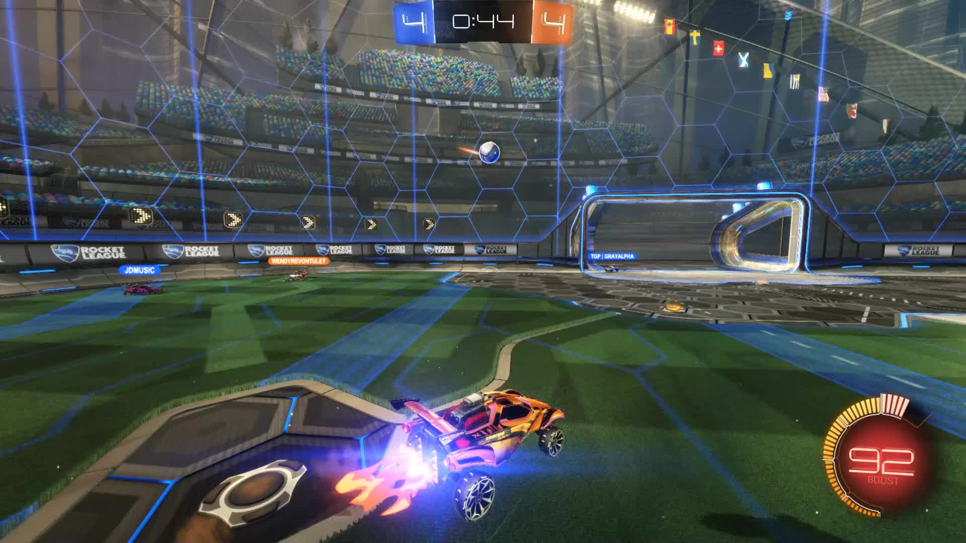 Gif Your Game, GifYourGame, Goal, Rocket League, RocketLeague, SCOTLAND FOREVER, Goal 9: SCOTLAND FOREVER GIFs