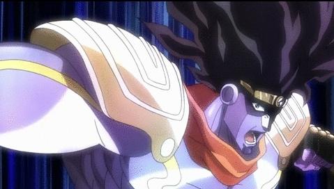 animegifs, animesuggest, Star Platinum[JoJo's Bizarre Adventure: Stardust Crusaders] (reddit) GIFs