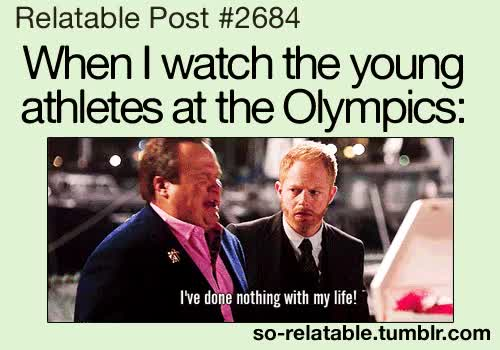 Watch and share Gif LOL Funny Gifs Life True My Life So True Relatable Olympics So Relatable GIFs on Gfycat