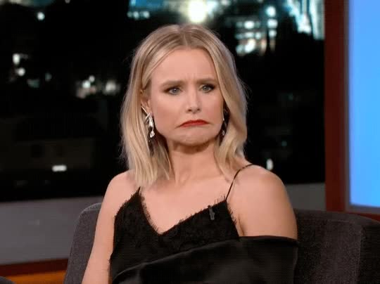 Watch this awkward GIF by The GIF Smith (@sannahparker) on Gfycat. Discover more awkward, confused, idk, jimmy kimmel live, kristen bell, oops, shrug, yikes GIFs on Gfycat