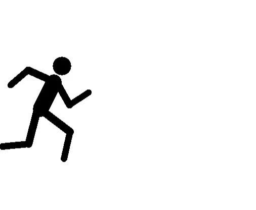 Watch and share Ba Running Gallery Stick Figure Running Stickman Clipart GIFs on Gfycat