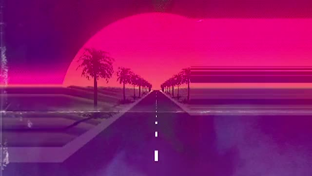 On the Nightway (Synthwave - Chillwave - Retrowave