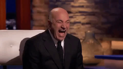 Kevin O'Leary, cackling, evil laughter, funny, haha, hilarious, laughing, lol, mr wonderful, shark tank, Shark Tank Kevin O'Leary LOL GIFs