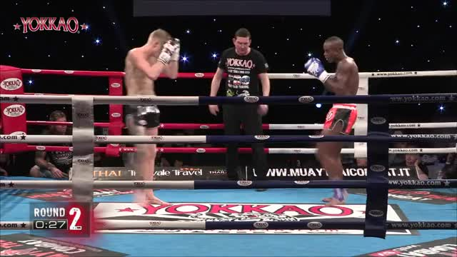 Watch and share Reece Mcallister GIFs and Kickboxing GIFs on Gfycat