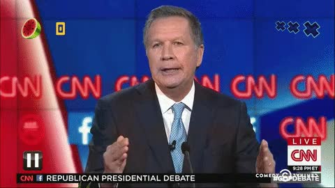 Watch and share John Kasich GIFs on Gfycat