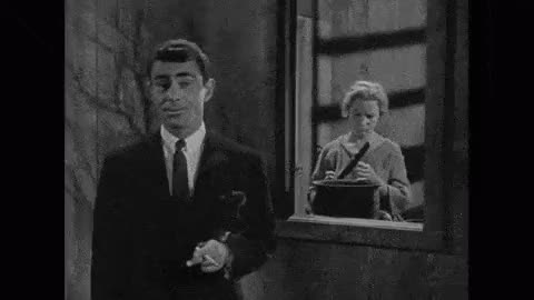 Watch this trending GIF on Gfycat. Discover more gif, inthetwilightzone, rod serling, the twilight zone GIFs on Gfycat