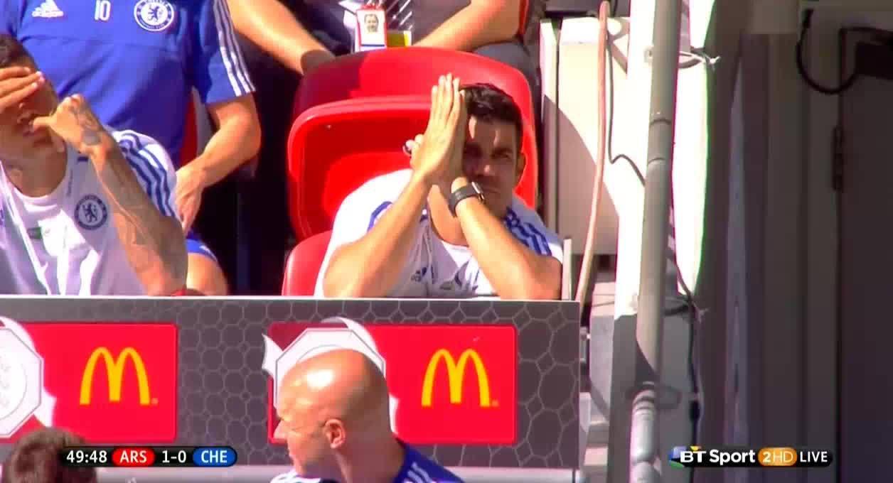 accidentalcomedy, soccer, Costa vs the sun GIFs