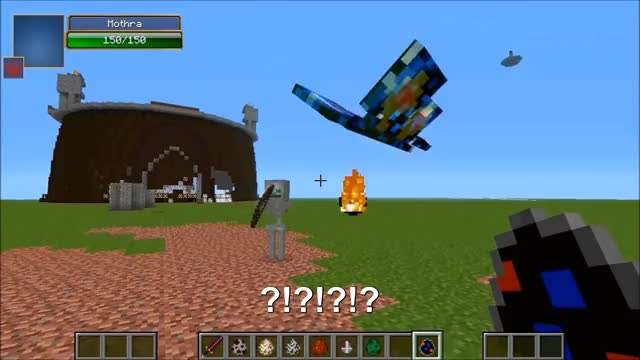 Watch and share Godzilla Vs Mothra GIFs and Minecraft GIFs on Gfycat