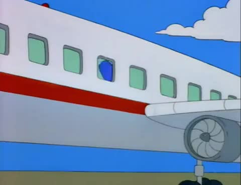 Watch and share Fear Of Flying GIFs and Marge Simpson GIFs on Gfycat