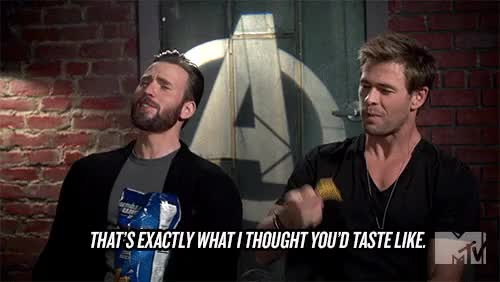 Watch Avocados at Law GIF on Gfycat. Discover more age of ultron, aou, captain america, chris evans, chris hemsworth, doritos, human dorito, marvel GIFs on Gfycat