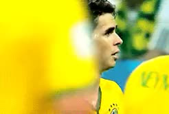 Watch and share Brazil Vs Croatia GIFs and Oscar Dos Santos GIFs on Gfycat