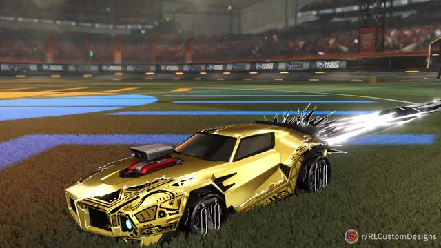 Watch and share Dom GT Gold Blast Ray GIFs by Infernx on Gfycat