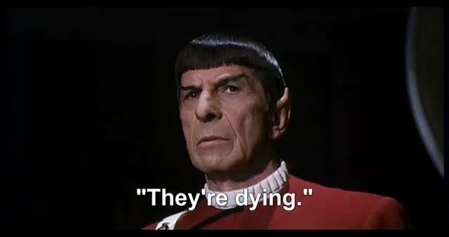 Watch and share Leonard Nimoy GIFs and Let Them Die GIFs by Rocco Supreme on Gfycat