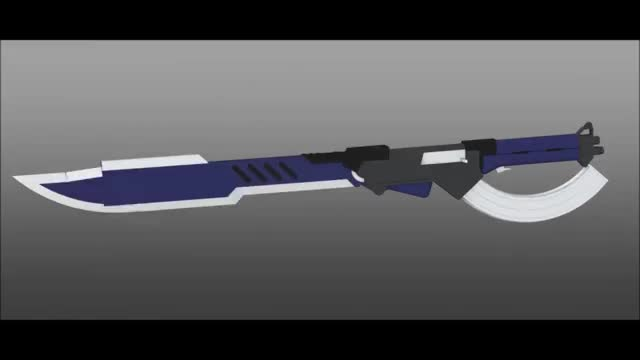 Watch and share RWBY Weapon Design: AK Sword GIFs on Gfycat