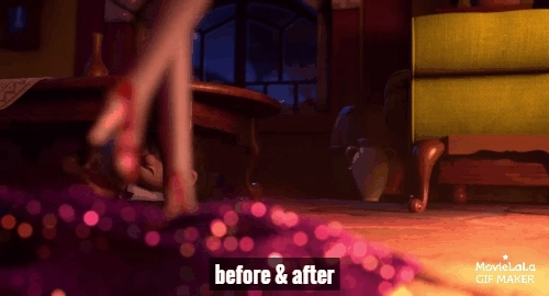 funny, highheels, movies, Red Shoes & 7 Dwarfs Trailer GIFs