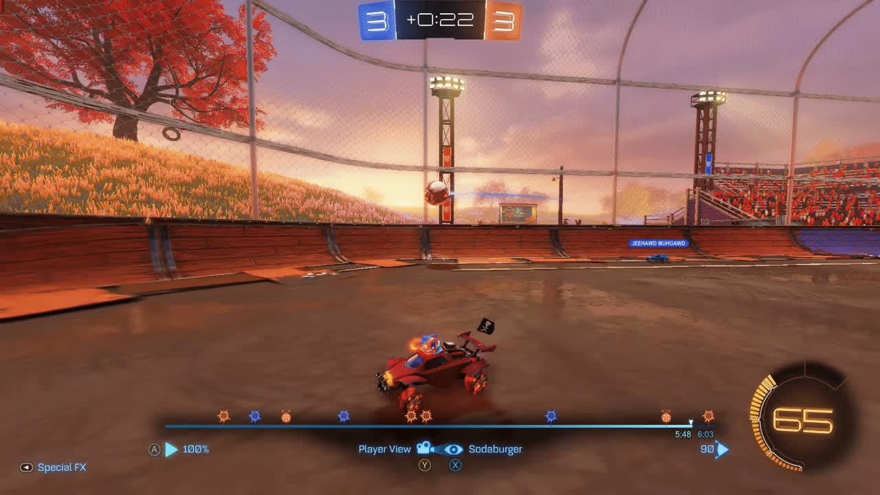 rocket league, annoy grant goal GIFs
