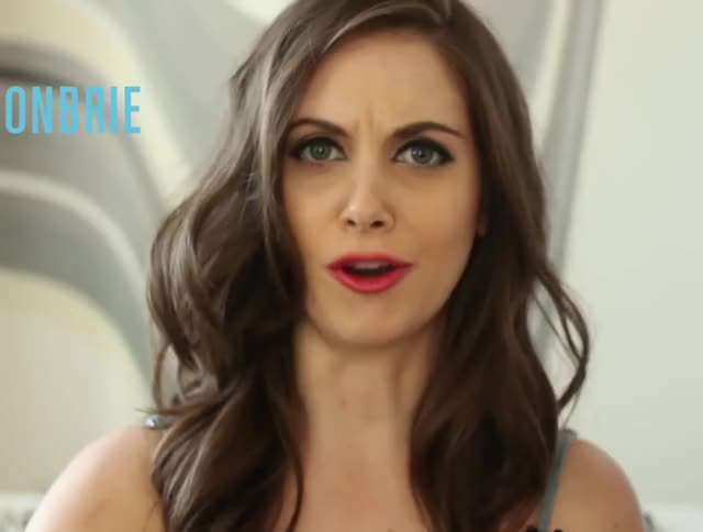 Watch and share Nylon Magazine GIFs and Alison Brie GIFs by ehstrdcfg on Gfycat