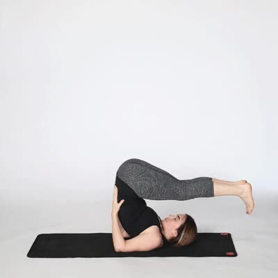 Watch and share 2265-Supported_Shoulderstand-400x400-exercise GIFs by Healthline on Gfycat