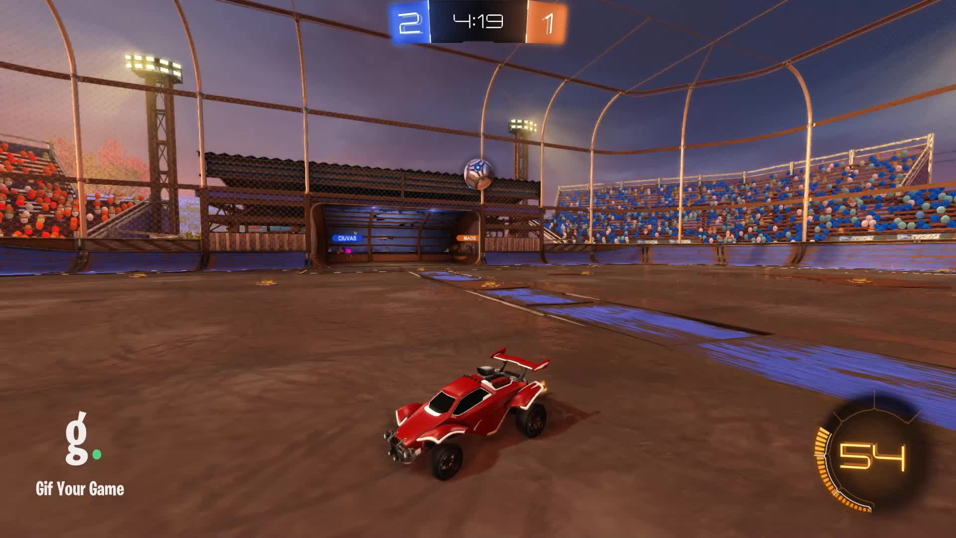 Gif Your Game, GifYourGame, Goal, Rocket League, RocketLeague, unknown multiplayer, Goal 4: unknown multiplayer GIFs