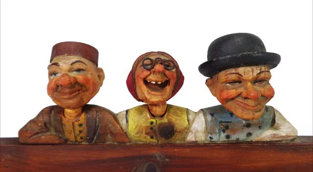 Watch and share ANRI ITALY FOLK ART FUNNY WOODEN FIGURES GIFs by nymphjayeen on Gfycat