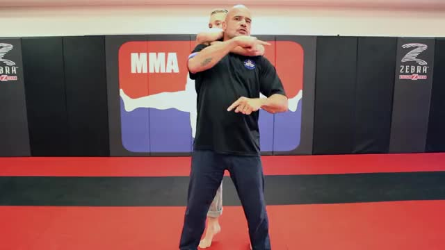 Watch and share How To Escape A Standing Rear Choke W/ Bas Rutten GIFs by racermax414 on Gfycat