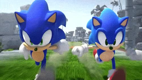 Watch and share Random Running Sonic Sonic The Hedgehog GIFs on Gfycat