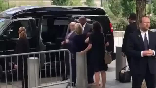 """Watch and share Hillary's 9/11 Health """"Episode"""" - Reverse Angle GIFs on Gfycat"""