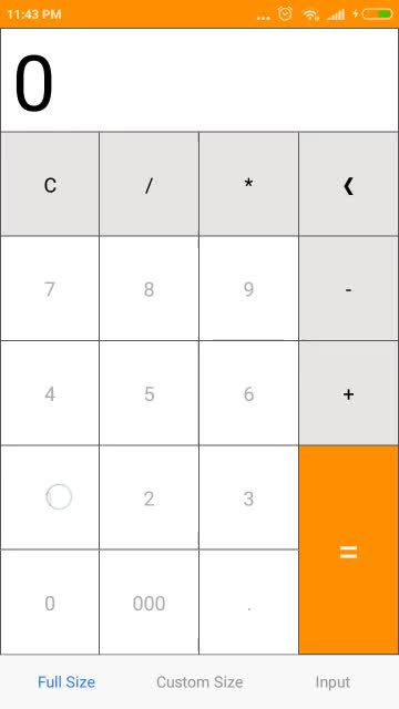 Watch and share React Native Calculator Default GIFs by budiadiono on Gfycat