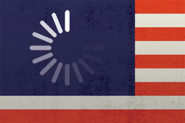 Watch and share Mikey Burton's US Flag Animated GIF ⋆ Douglas Web Designs GIFs on Gfycat