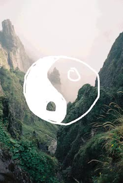 Watch and share Gif Tumblr Nature Chill Yin Yang Vibes Goodvibes GIFs on Gfycat