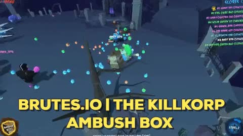 Watch Brutes.io | The Killkorp Ambush Box GIF by BulletProof (@bulletproof) on Gfycat. Discover more brutes.io, bulletproof, miniclip GIFs on Gfycat
