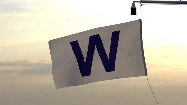 Watch and share Waving Cubs Win Flag GIFs by jefftml on Gfycat