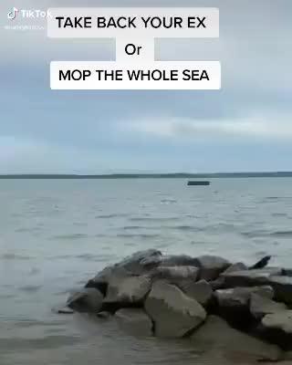 Imma mop the whole sea