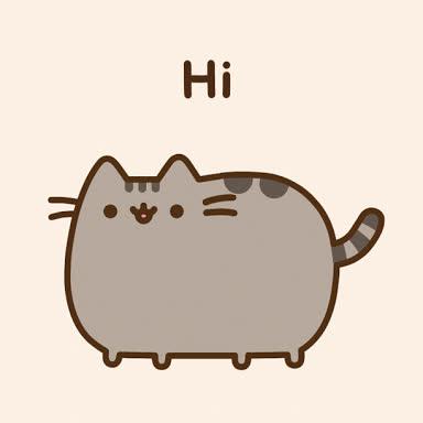Pusheen, animation, cute, hello, hi, Pusheen Hi GIFs