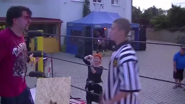 Watch VcV LIVE SHOW 2014 - Poprvé na Mělníku GIF on Gfycat. Discover more Backyard, Battle, Bava, Ring, Show, entertainment, fight, interview, pas, vcv, wrestlign, wrestling GIFs on Gfycat