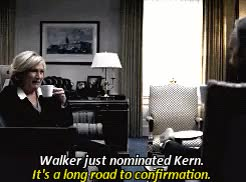 Watch House of Cards 1x1 GIF on Gfycat. Discover more Catherine Durant, Frank Underwood, House of Cards, I'm tagging you both since you both fell victim to this show recently :D, Jayne Atkinson, Kevin Spacey, inonesingleline, marthalogan, nw, okay well GIFs on Gfycat