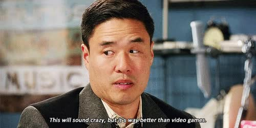 Watch and share Randall Park GIFs on Gfycat