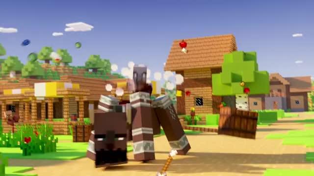 Minecraft Village & Pillage Update Launch Trailer GIF   Find