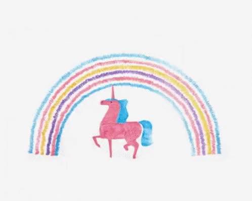 Watch and share Unicorns And Rainbows GIFs on Gfycat