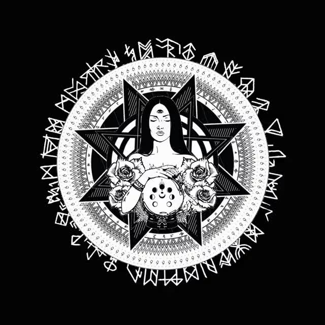 Watch and share Occult Design Animation 1025 GIFs on Gfycat