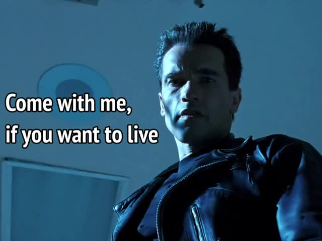 Watch and share Arnold Schwarzenegger GIFs and Terminator GIFs by MikeyMo on Gfycat