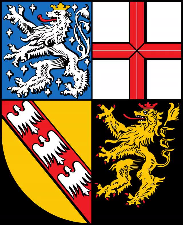 Watch and share 2000px-Wappen Des Saarlands.svg animated stickers on Gfycat