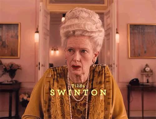 Watch and share Tilda Swinton GIFs on Gfycat