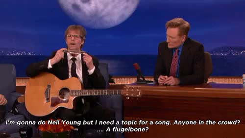 Watch and share Basic Cable Band GIFs and Conan O'brien GIFs on Gfycat