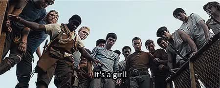 Watch and share Maze Runner GIFs on Gfycat